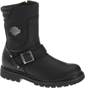 "'Harley Davidson' D95194 - Men's 8.25"" Booker Zip Boot - Black"