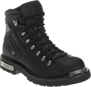 "'Harley Davidson' D96017 - Men's 6"" Electron Boot - Black"