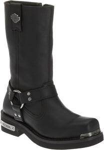 "'Harley Davidson' D96047 - Men's 10"" Landon Zip Boots - Black"