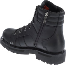 "'Harley Davidson' Men's 6.25"" Bonfield Zip Boot - Black"