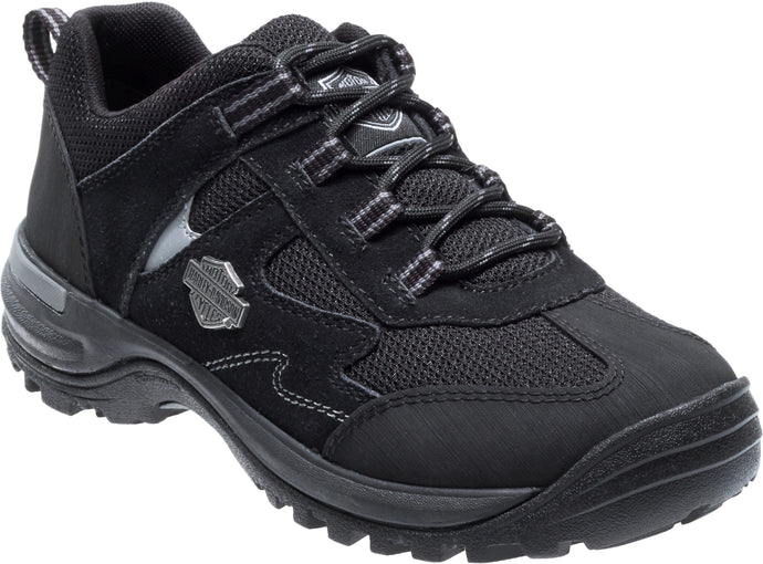 'Harley Davidson' Women's Oxford - Black / Grey