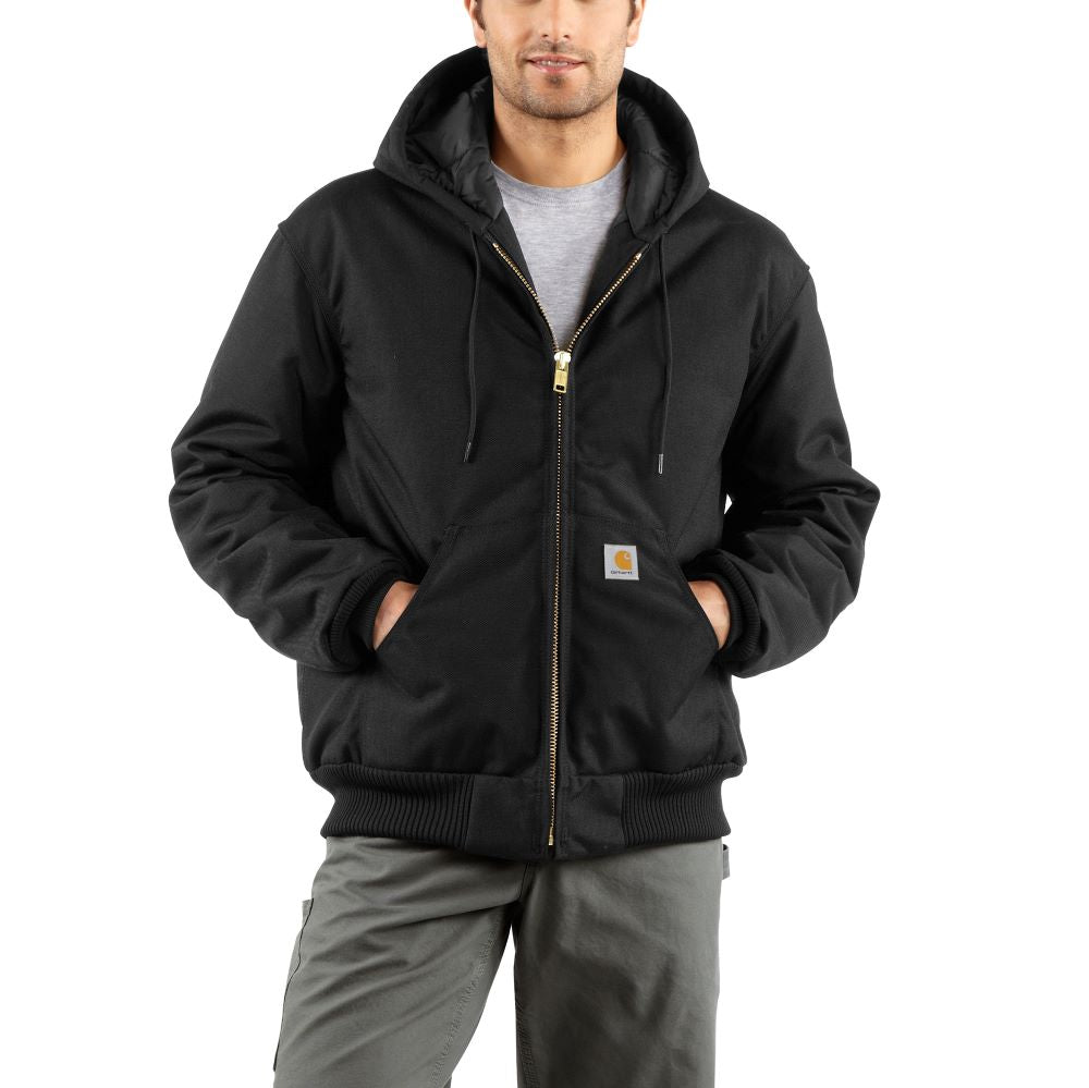 'Carhartt' Men's Extremes® Arctic Active Quilt Lined Jacket - Black