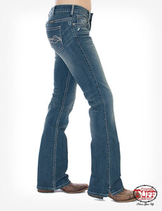 'Cowgirl Tuff' Women's 'Inspire' Bootcut - Medium Wash