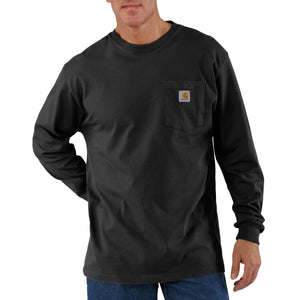 'Carhartt' Men's Heavyweight Pocket T-Shirt - Black