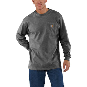 'Carhartt' Men's Workwear Pocket T-Shirt - Carbon Heather