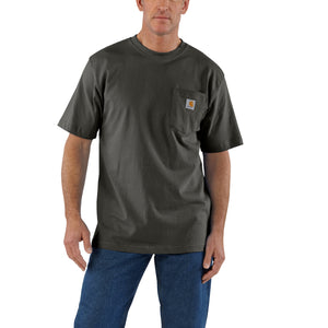 'Carhartt' Men's Workwear Heavyweight Pocket T-Shirt - Peat