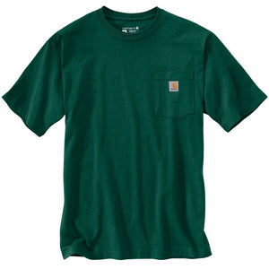 'Carhartt' Men's Workwear Pocket Tee - North Woods Heather