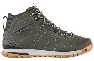 'OBOZ' Men's Bozeman Mid WP Leather - Charcoal