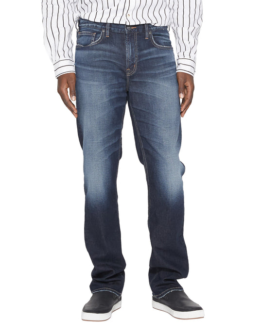 'Silver Jeans' Men's Grayson Easy Fit Straight Leg - Indigo