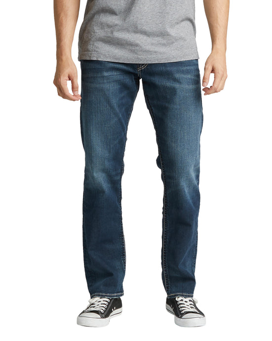 'Silver Jeans' Men's Eddie - Dark Wash Indigo Denim