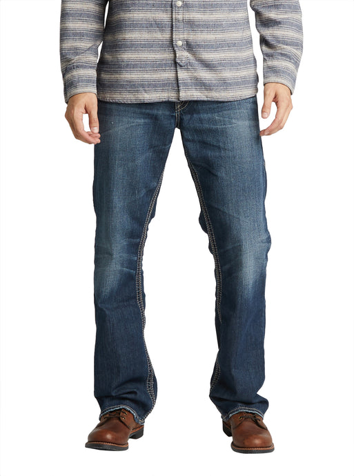 Gordie Straight Leg Jean - Dark Wash Denim