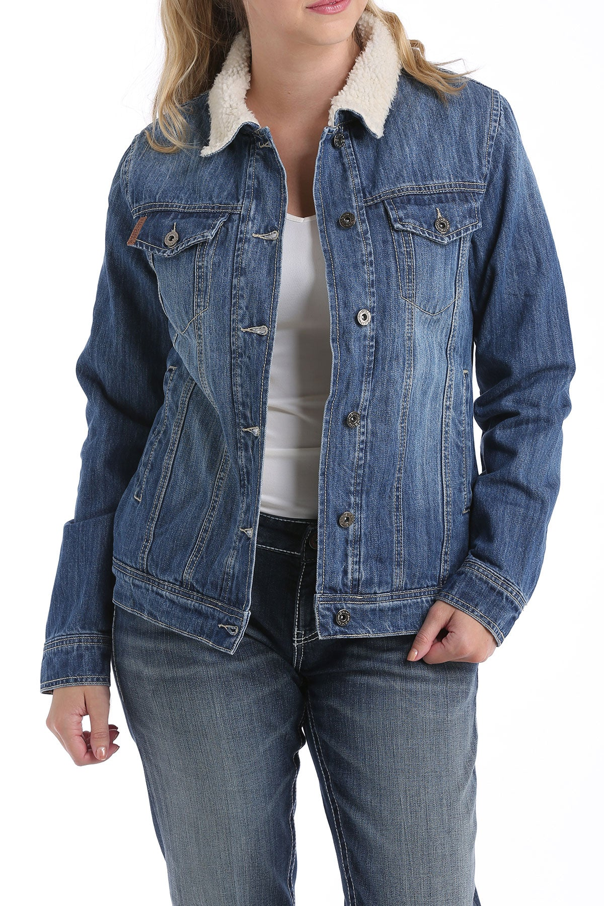 'Cinch' MAJ9878001 - Women's Denim Trucker Jacket - Denim