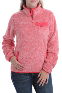 'Cinch' Women's 1/4 Zip Pullover - Multi