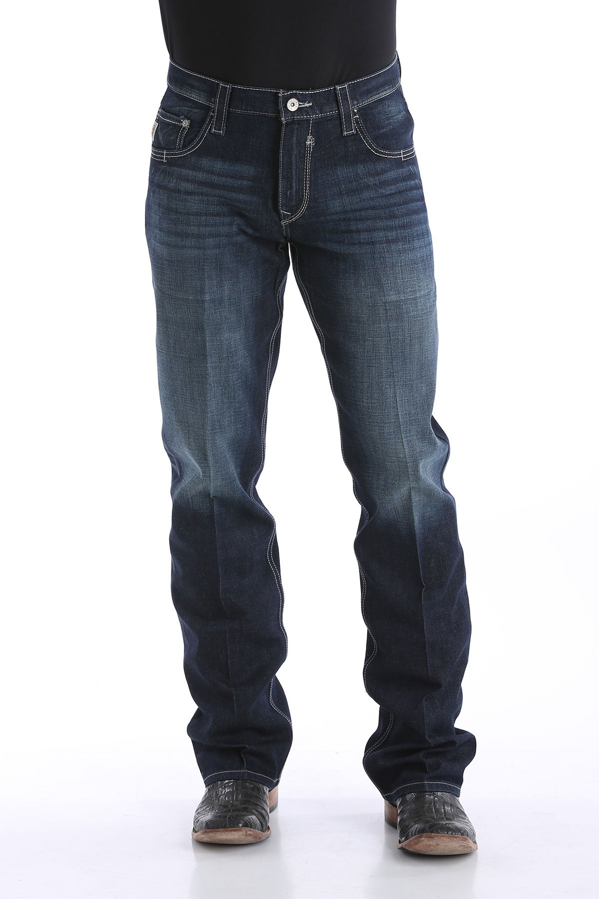 'Cinch' MB71934005 - Carter 2.4 Performance Denim - Dark Rinse