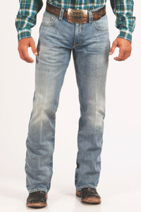 'Cinch' MB71934011 - Carter 2.0 Relaxed Fit Bootcut - Lt. Stone Wash