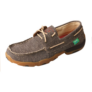 Men's Eco Driving Moccasin - Dust / Grey / Tan