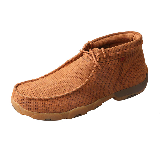 'Twisted X' Men's Driving Moc - Saddle