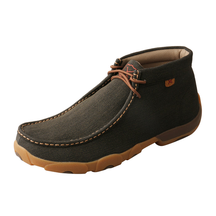 'Twisted X' Men's Chukka Driving Moc - Brown