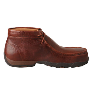 'Twisted X' Men's Driving Moc WP Comp Toe - Cognac
