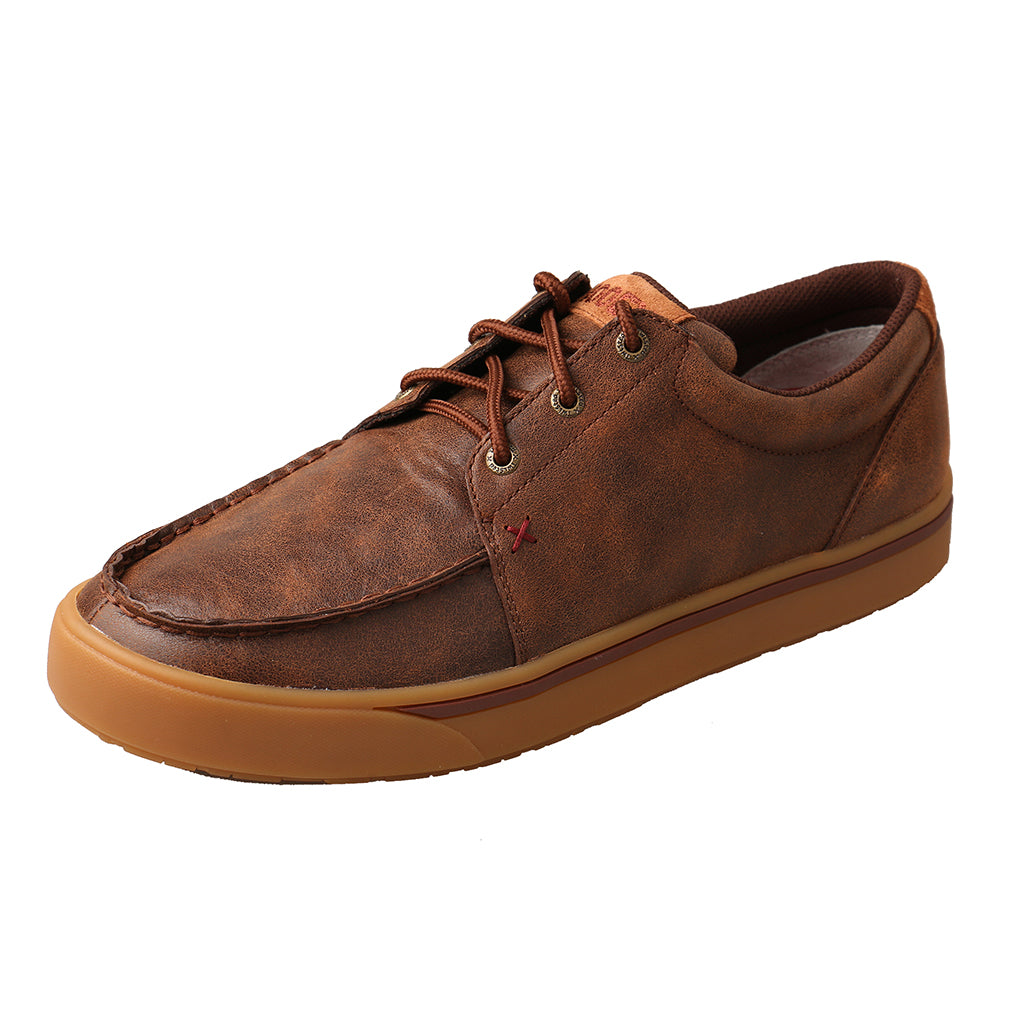 'Twisted X' Men's Hooey Lopers Oxford - Brown