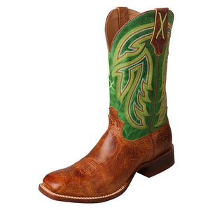Rancher - Cognac / Emerald Green
