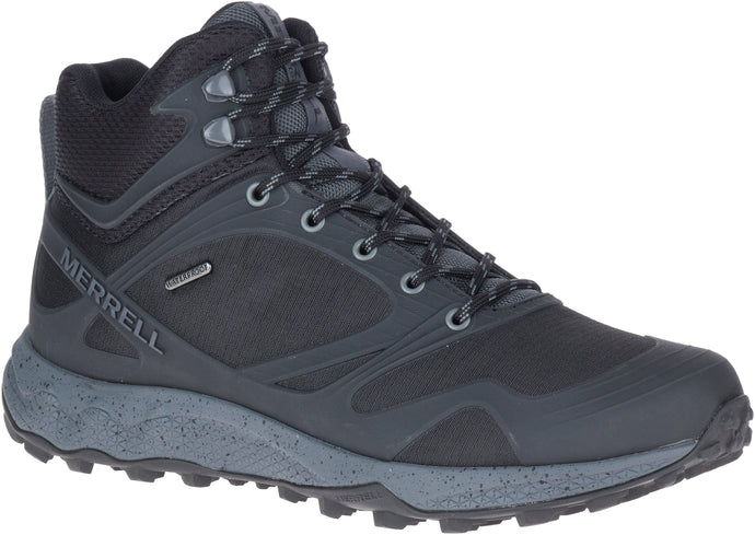 'Merrell' Men's Altalight Mid WP Hiker - Black / Rock