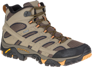 Moab 2 Mid Gore-Tex Waterproof - Walnut / Grey / Tan