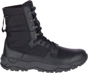 "'Merrell' Unisex 8"" MQC Patrol WP Soft Toe - Black (Wide)"