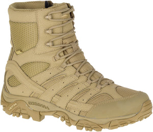 "'Merrell' Unisex 8"" Moab 2 Tactical WP Soft Toe - Coyote"