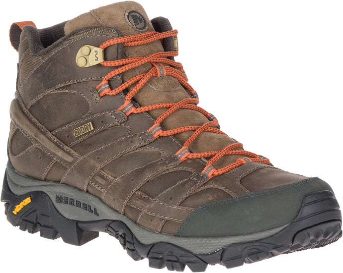 'Merrell' Men's Moab 2 Prime Mid WP - Canteen (Wide)