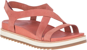 'Merrell' Women's Juno Backstrap Sandal - Redwood