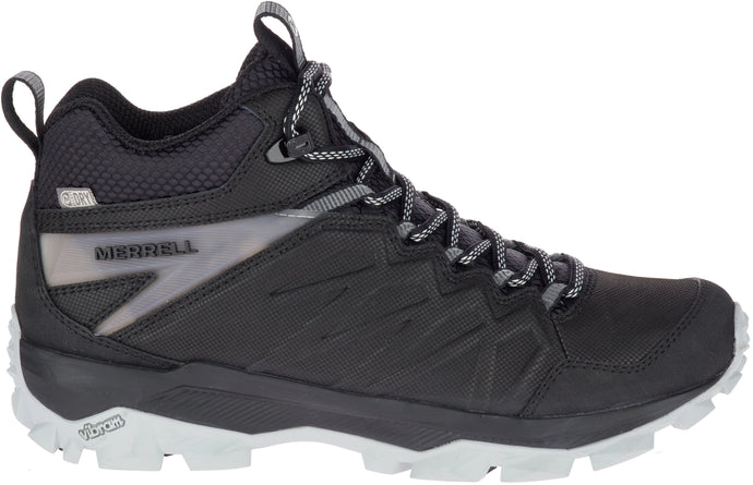 'Merrell' Women's Thermo Freeze WP Mid Boot - Black / Grey
