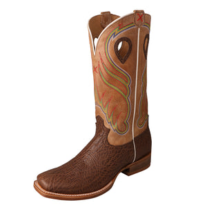 Ruff Stock - Cognac / Crystal / Crazy Horse Brown