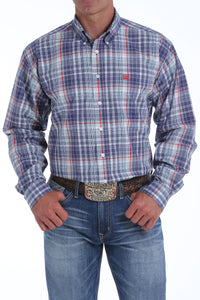 'Cinch' MTW1104818 - LS Button Down Shirt - Plaid / Multi