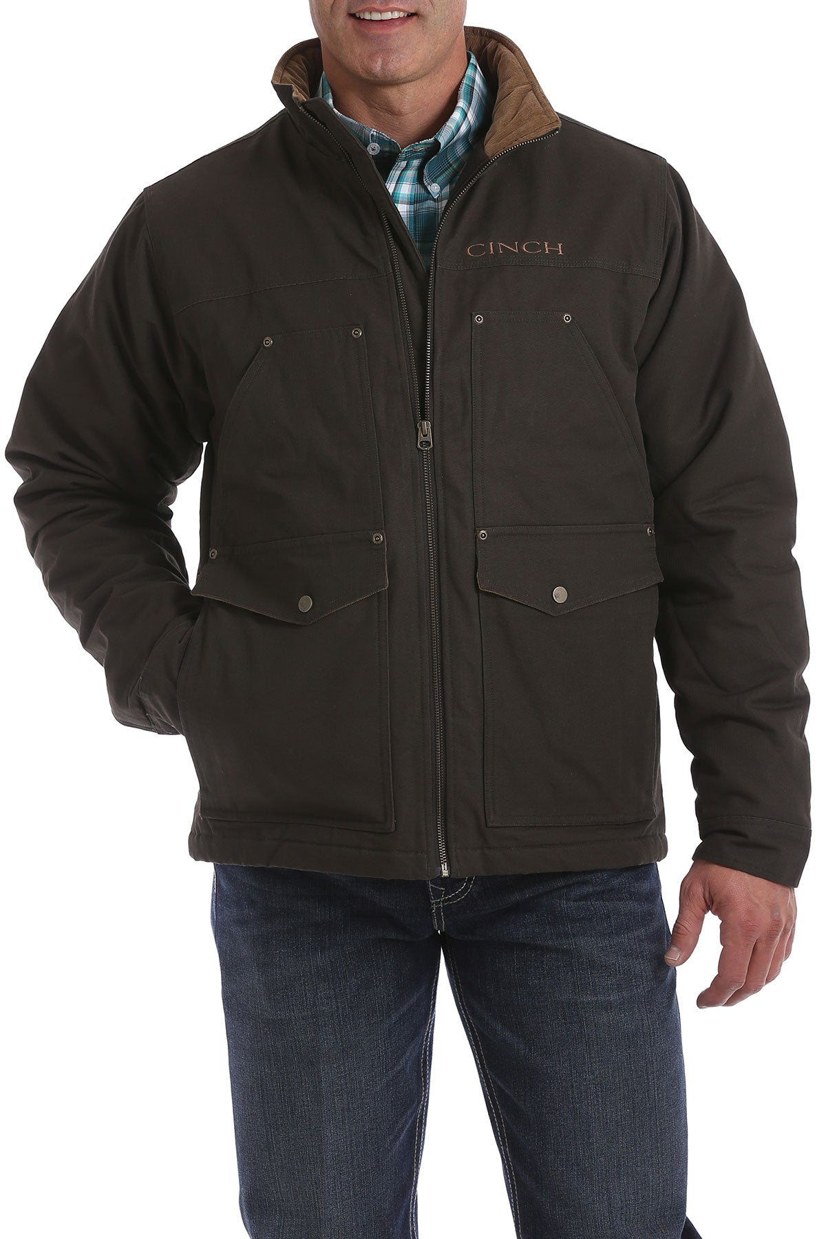 'Cinch' MWJ1068003 - Concealed Carry Contender Jacket - Brown