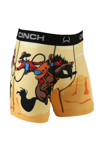 "'Cinch' Men's 6"" Cowboy Boxer Briefs - Multi"