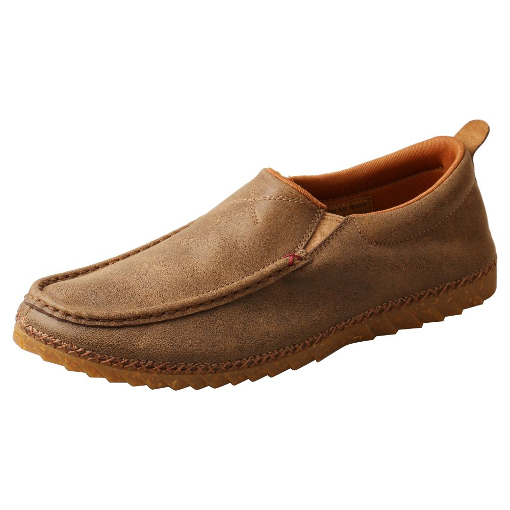 'Twisted X' Men's Zero X™ Slip On - Bomber / Brown