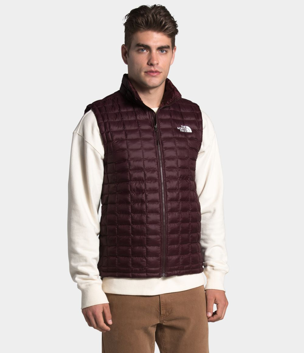 'The North Face' Men's Thermoball Eco Vest - Root Brown Matte