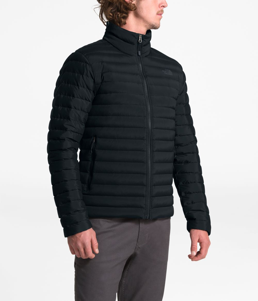 'The North Face' Men's Stretch Down Stowable Jacket - TNF Black
