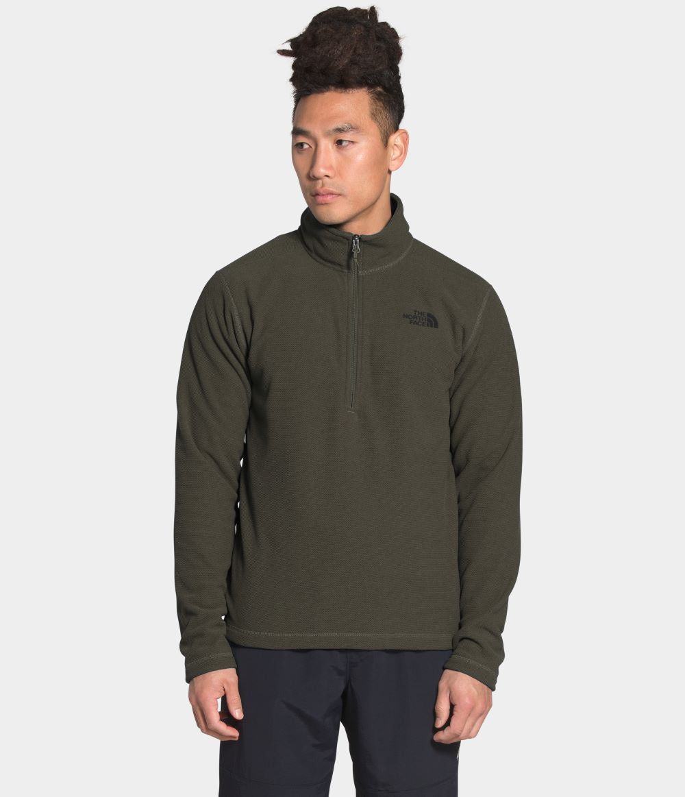 'The North Face' Men's Cap Rock 1/4 Zip - New Taupe Green