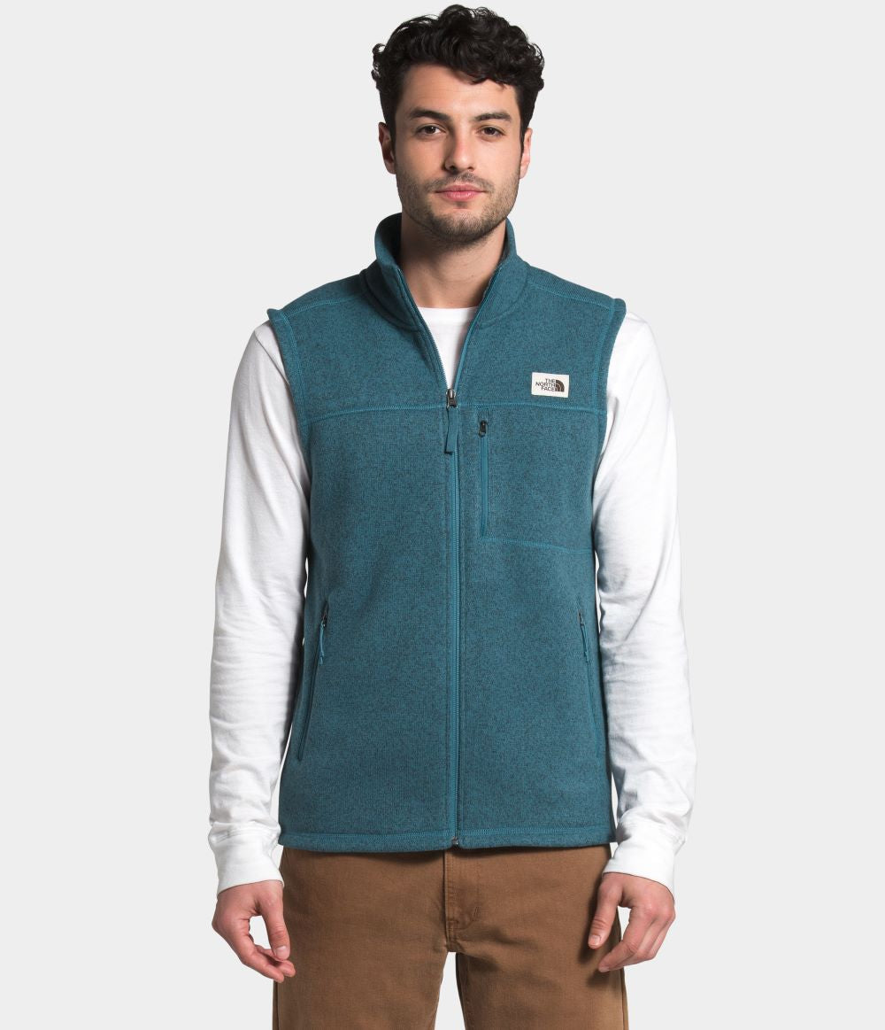 'The North Face' Men's Gordon Lyons Vest - Mallard Blue Heather