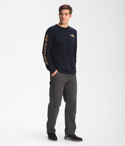 'The North Face' Men's Long Sleeve Hit T-Shirt - Aviator Navy