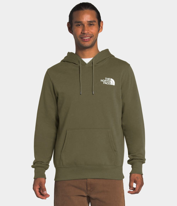 'The North Face' Men's Box NSE Pullover Hoodie - Burnt Olive Green