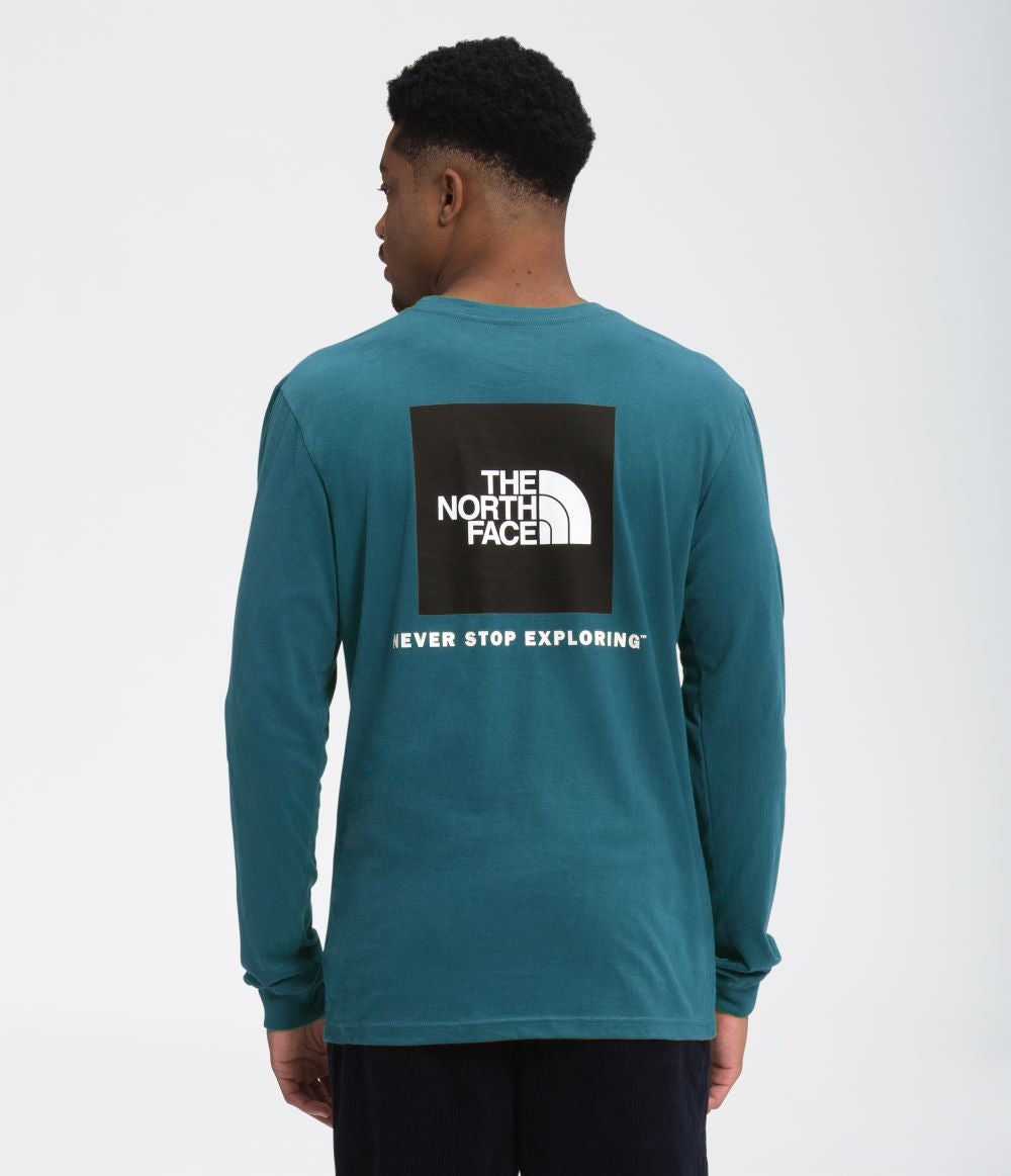 'The North Face' Box NSE Tee - Mallard Blue