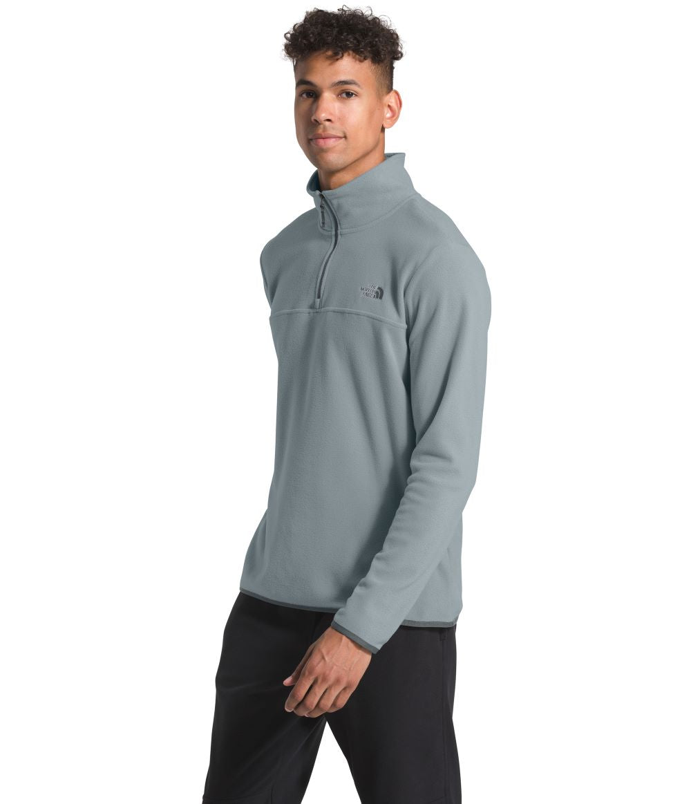 'The North Face' Men's TKA Glacier 1/4 Zip - Mid Grey