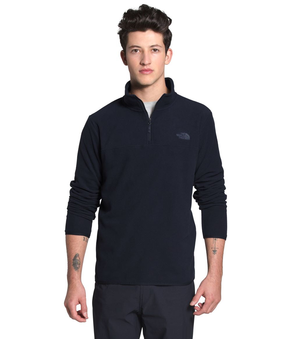 'The North Face' Men's TKA Glacier 1/4 Zip - Aviator Navy