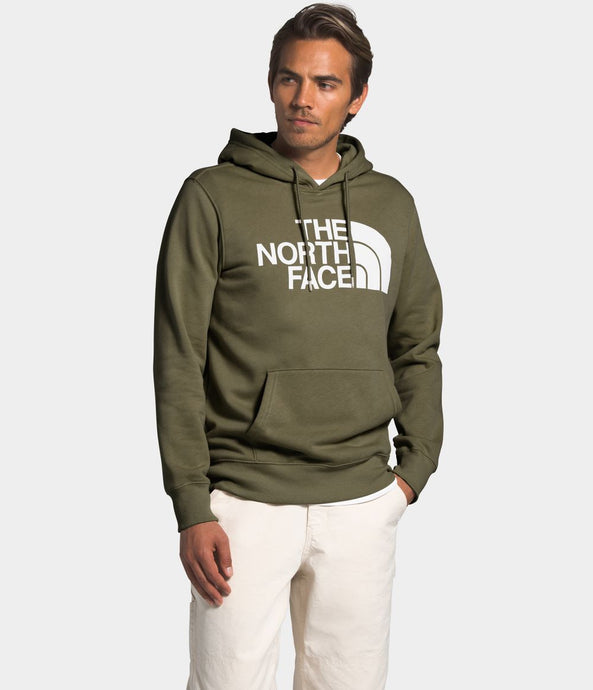 'The North Face' Men's Half Dome Pullover - Burnt Olive Green