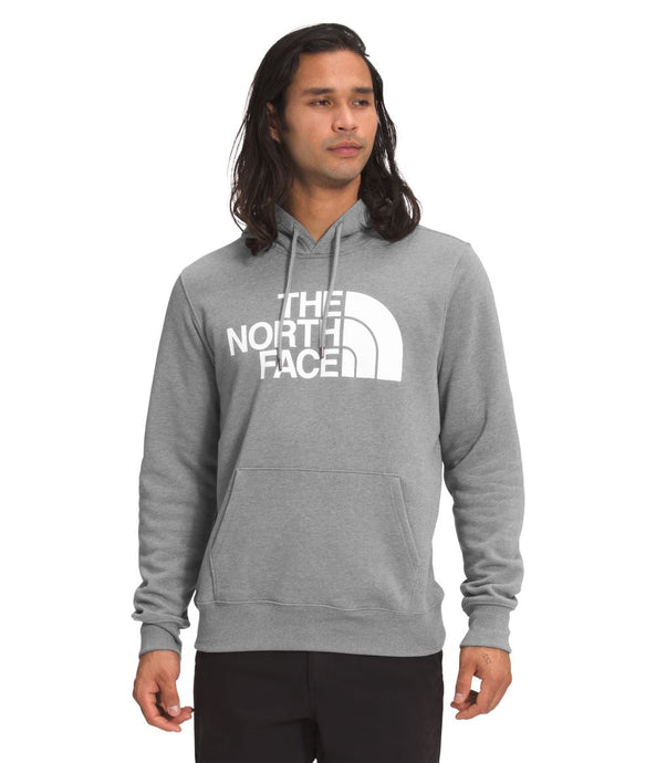 'The North Face' Men's Half Dome Pullover Hoodie - Medium Grey Heather