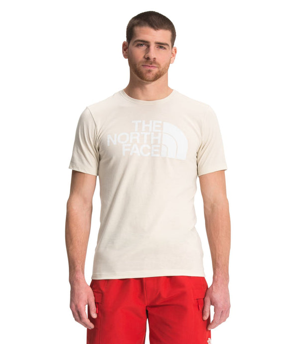 'The North Face' Men's Half Dome Triblend T-Shirt - Vintage White Heather
