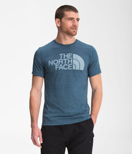 'The North Face' Men's Half Dome Triblend T-Shirt - Monterey Blue Heather